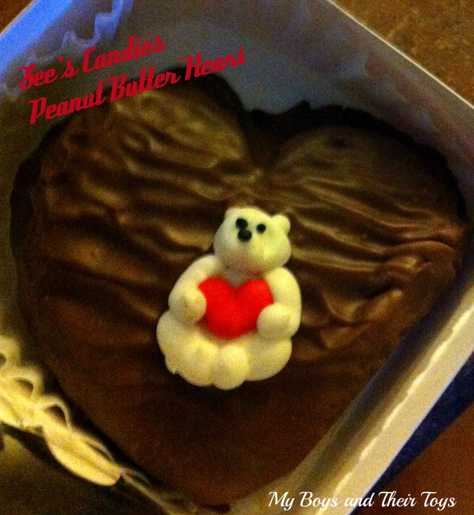 See's Candies pb heart