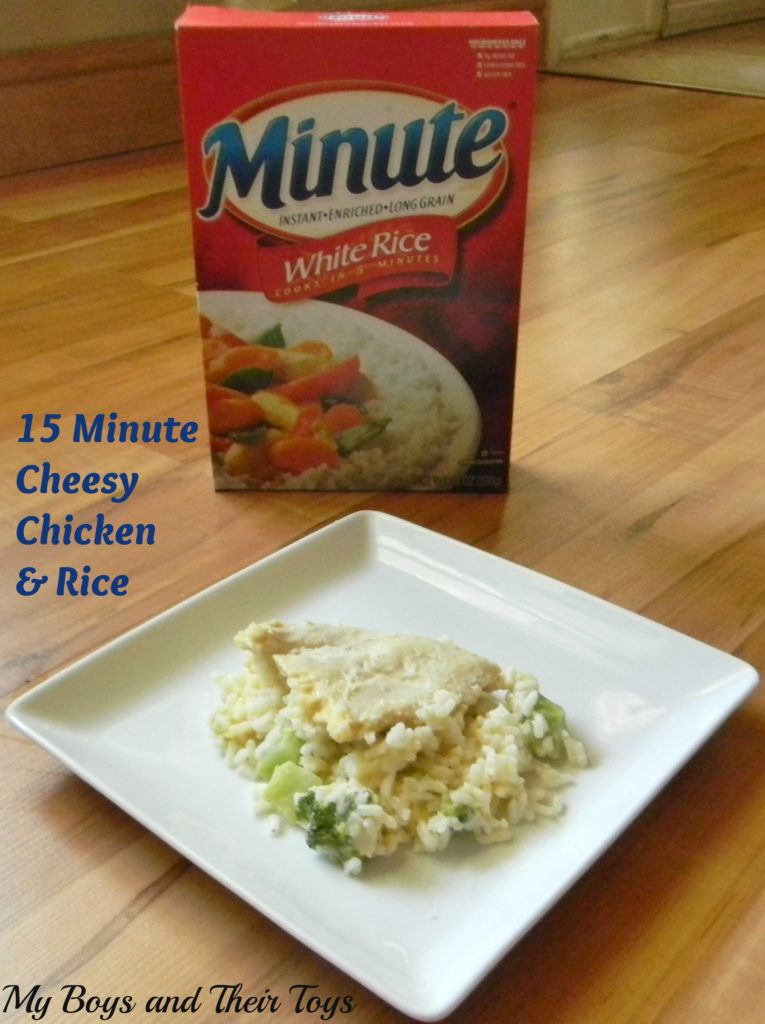 Minute White Rice meal