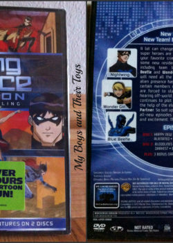 Young Justice dvd