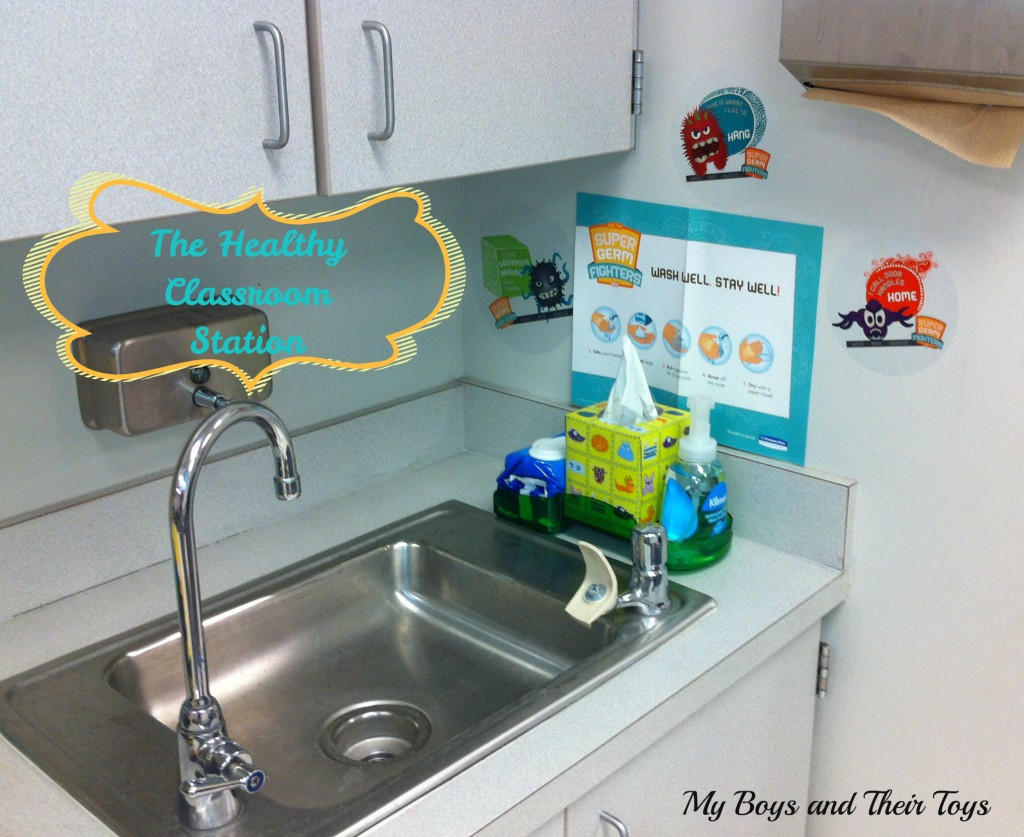healthy classroom station