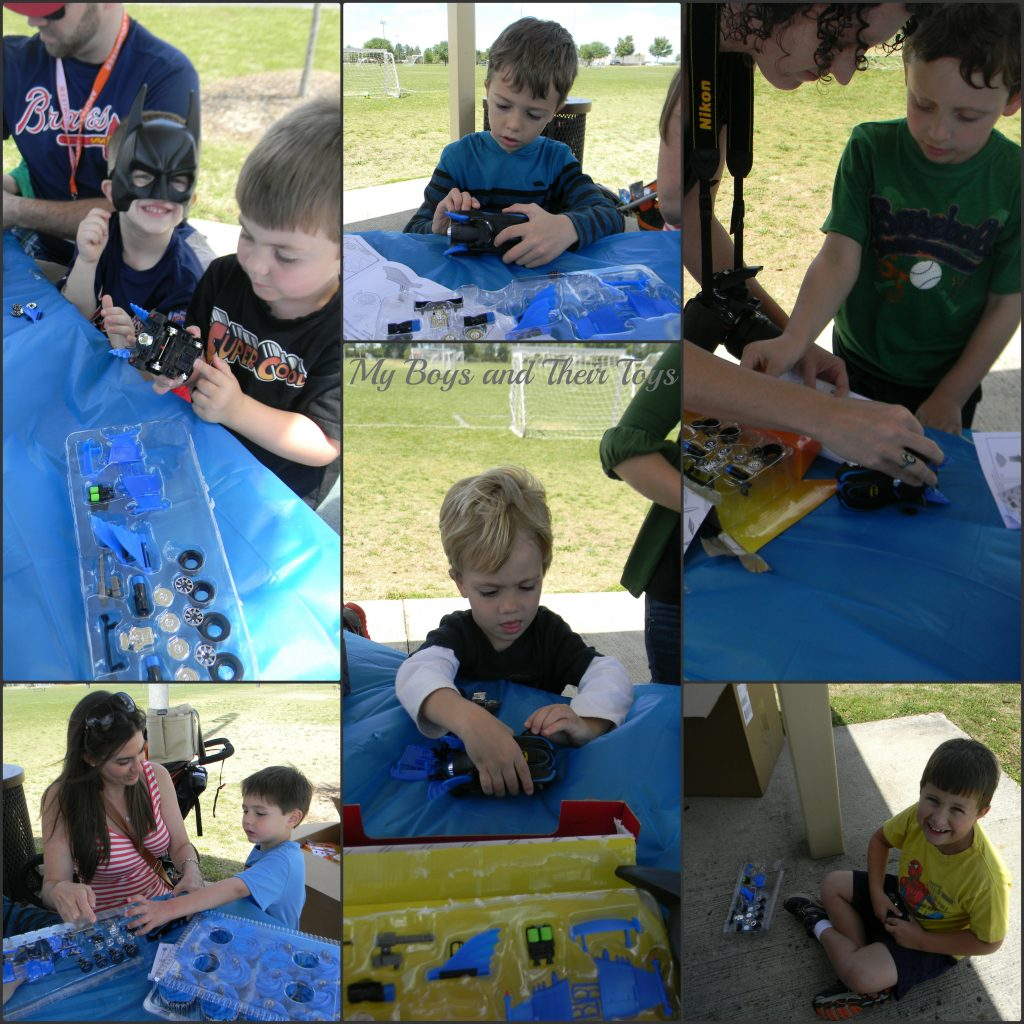 kids customizing their cars