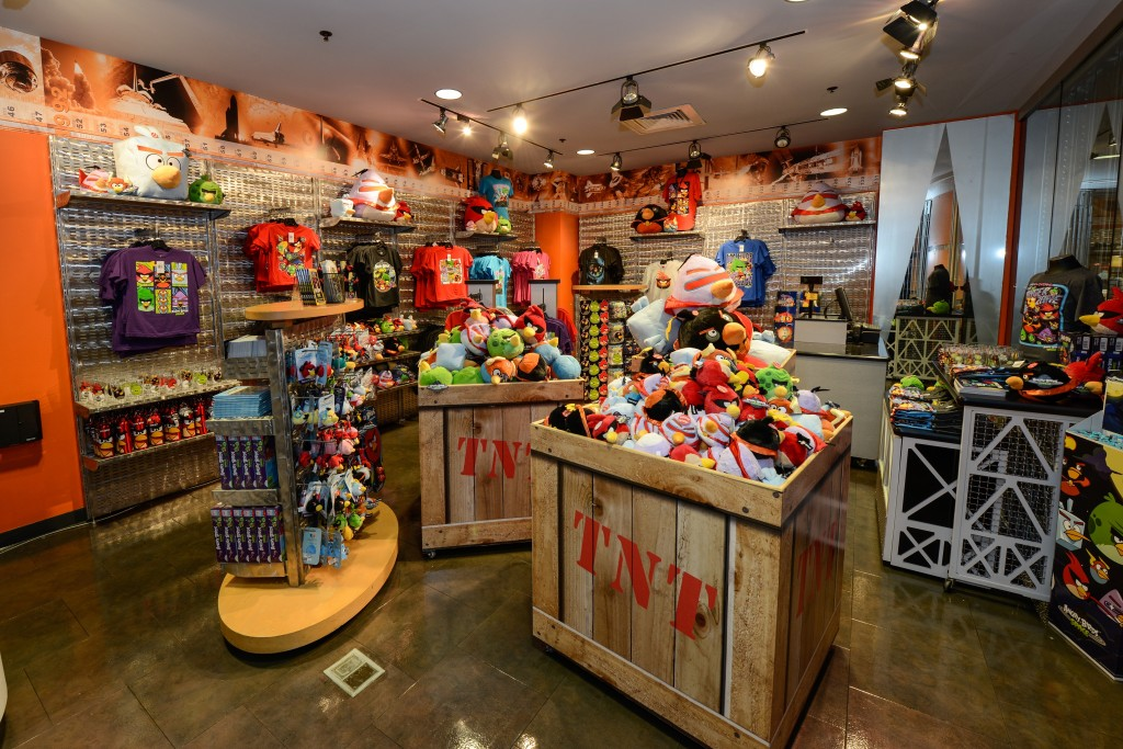 Angry Birds Space Encounter Gift Shop