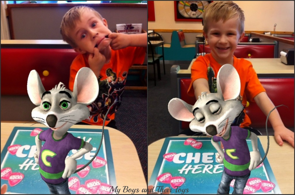 Chees'n with Chuck E