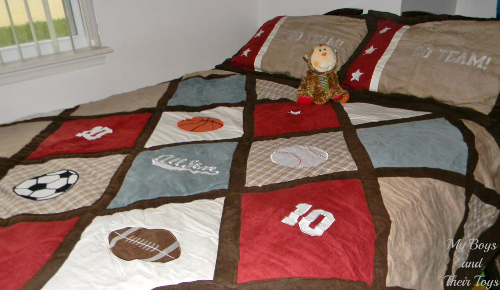 Beyond bedding sports comforter