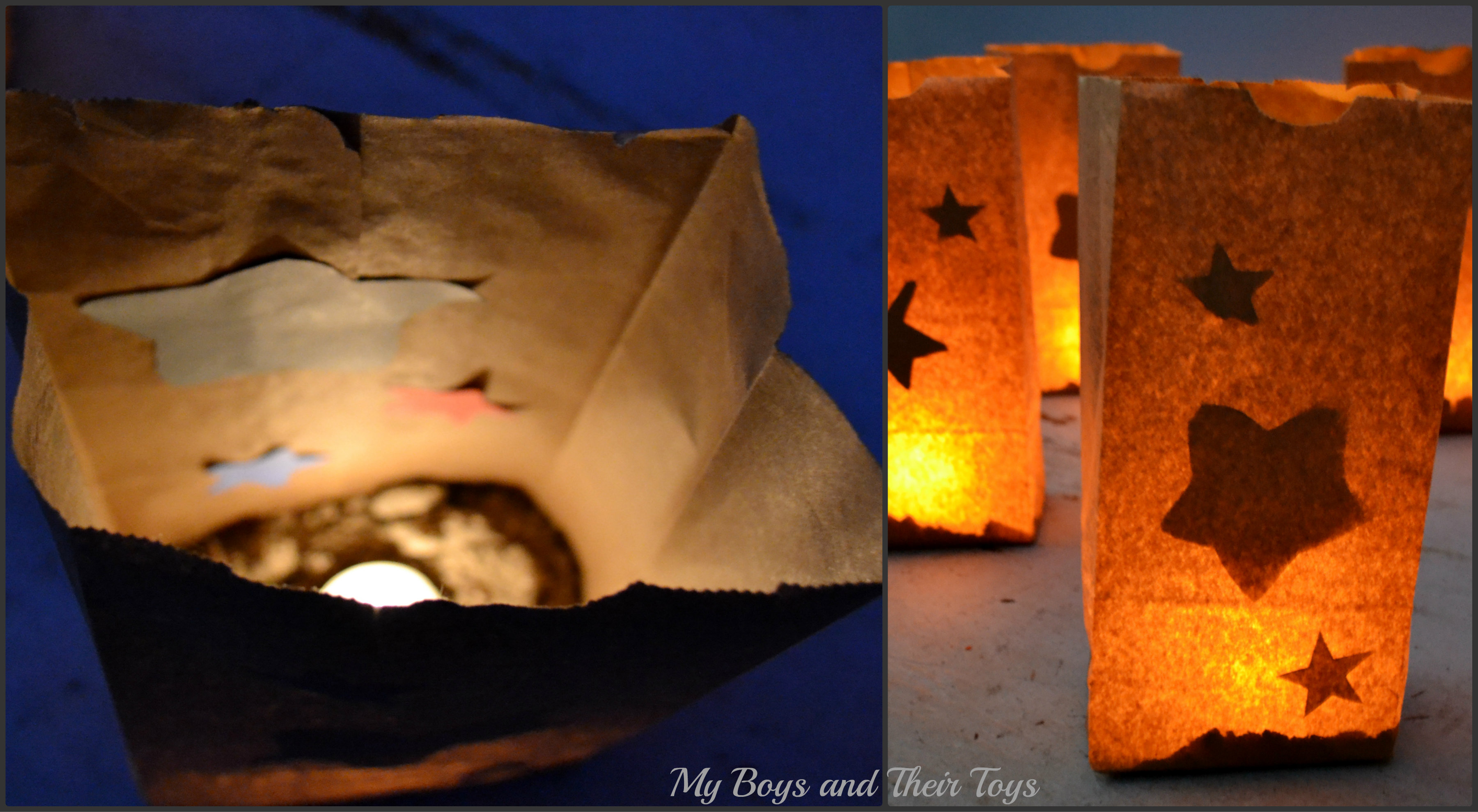 luminarias kids craft