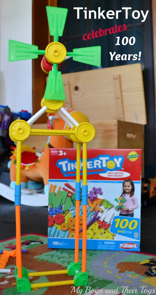 tinkertoys 100 years
