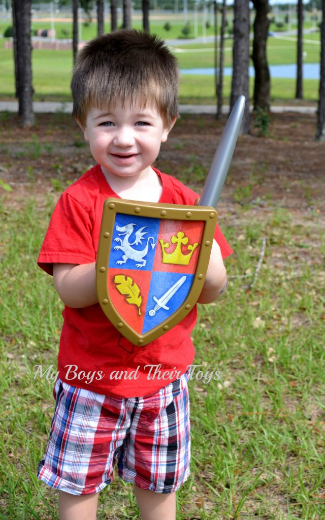 toy sword and shield