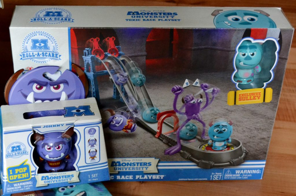 monsters U Toxic race playset