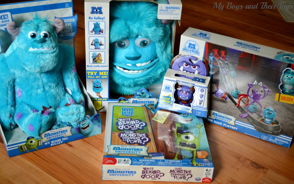 Monsters U merchandise