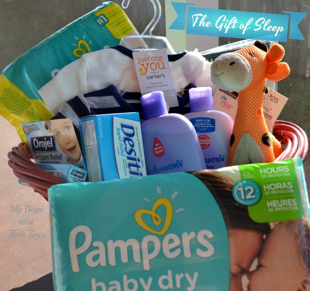 Pampers basket