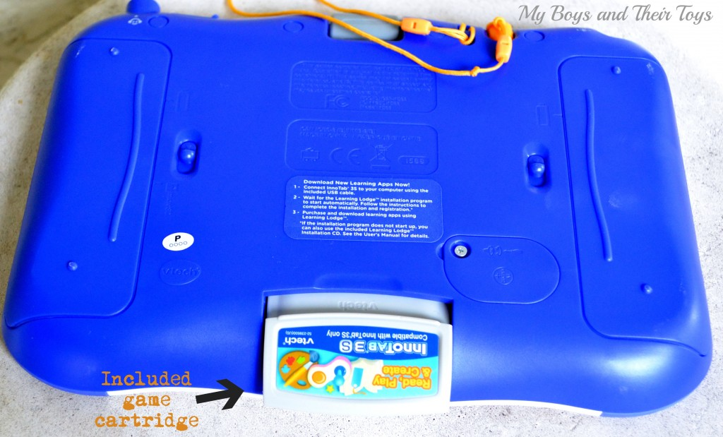 Vtech tablet with cartridge