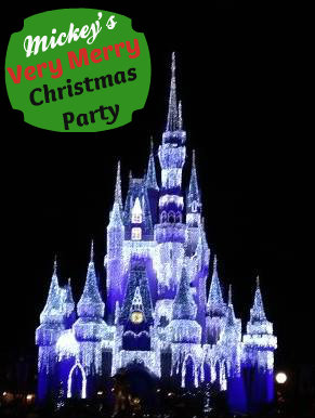 Disney World Cinderella Castle Christmas time