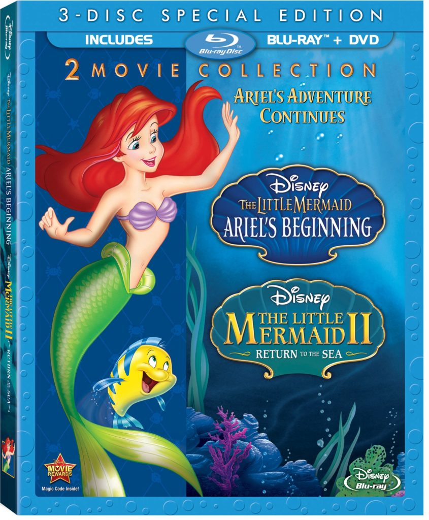 The Little Mermaid II Blu-ray