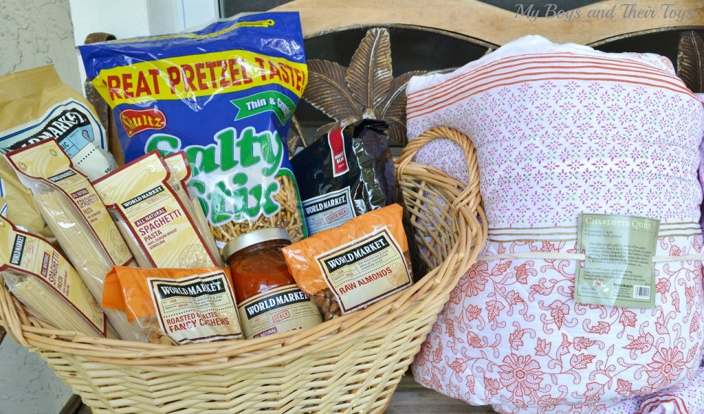 charity food basket #sharethejoy