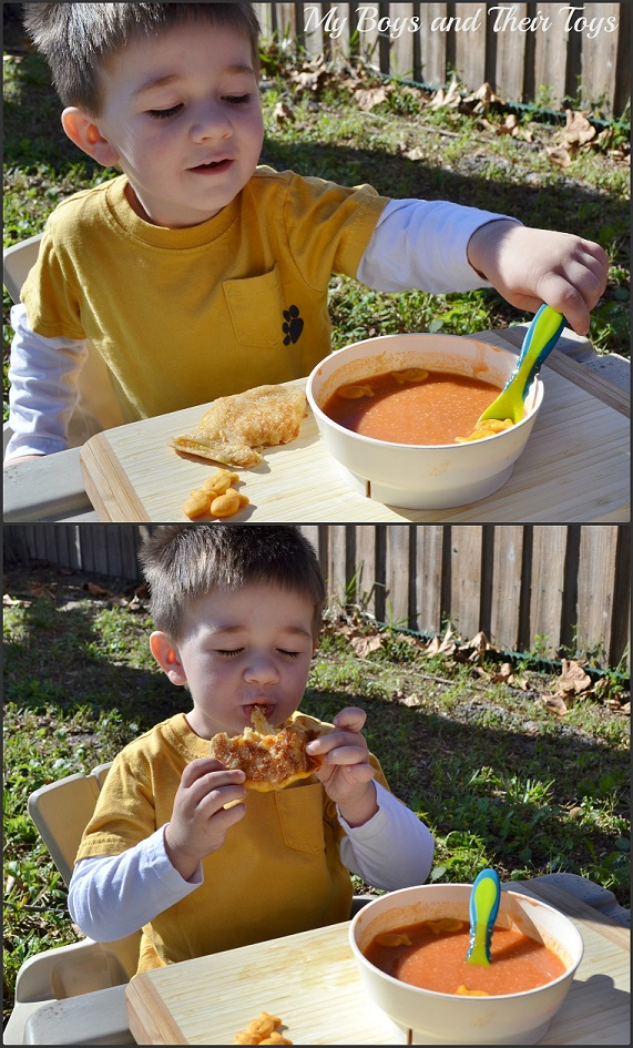 dunkable fun with soup
