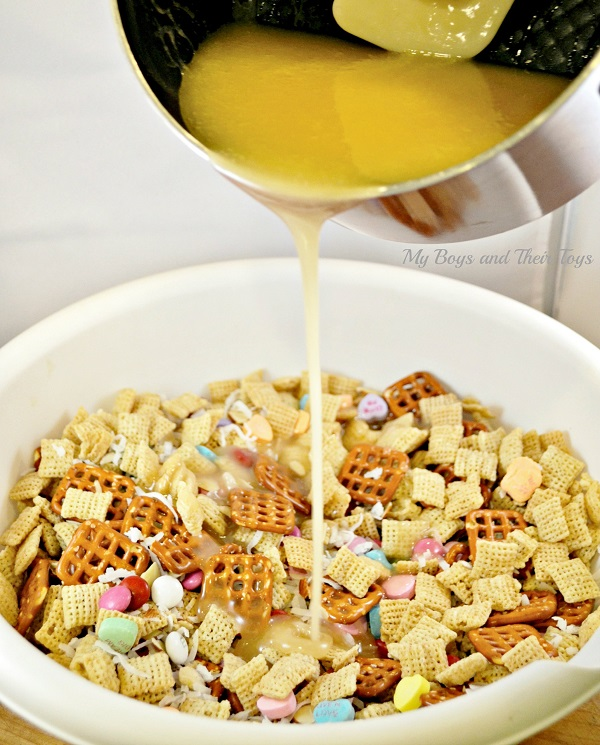 Coconut Almond Chewy Chex Mix
