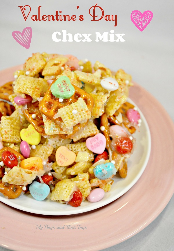 Valentine's Day Chex Mix recipe