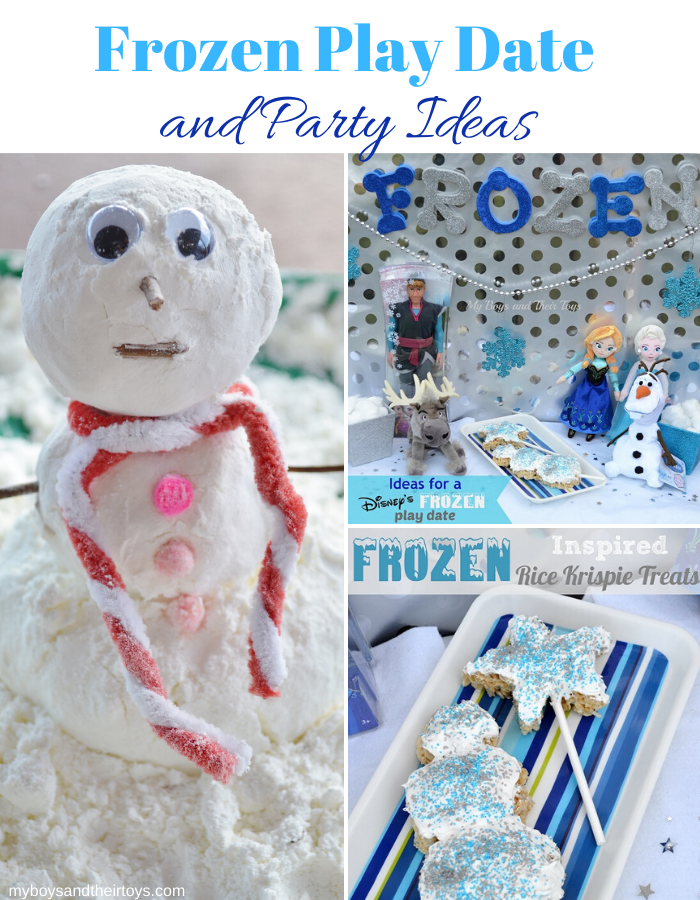 frozen play date party ideas