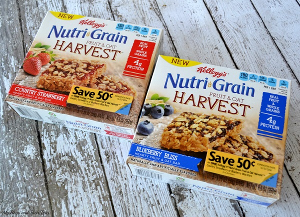 Nutri-Grain Fruit & Oat Harvest Cereal Bars