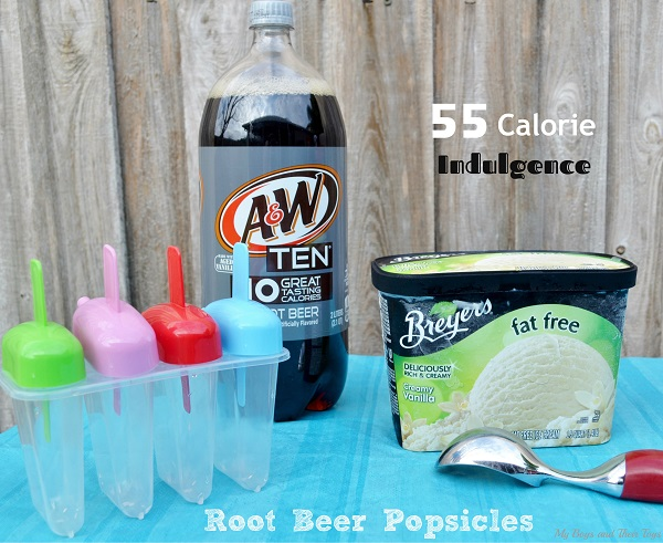 Root Beer popsicles