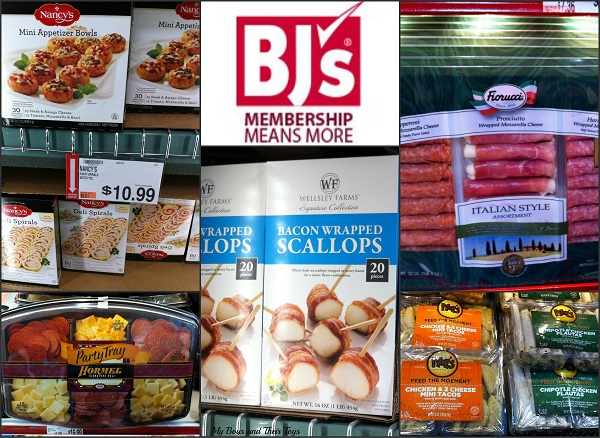 shopping at BJ's Wholesale