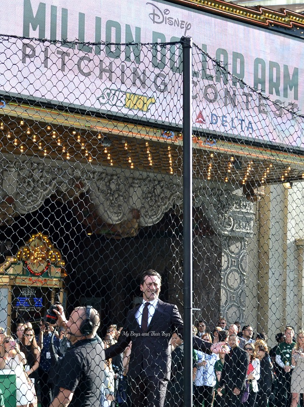 Jon Hamm Disney pitching contest