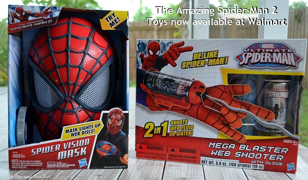 The Amazing Spider-Man 2 Toys