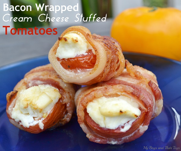 bacon wrapped tomatoes