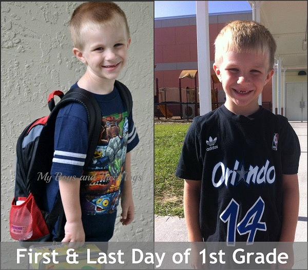 first & last day of 1st grade