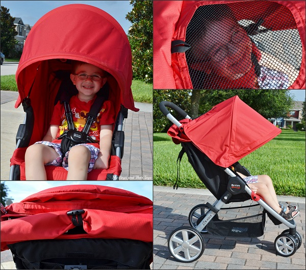 Britax B-Agile Red