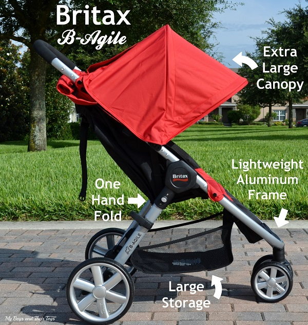 Britax B-Agile features