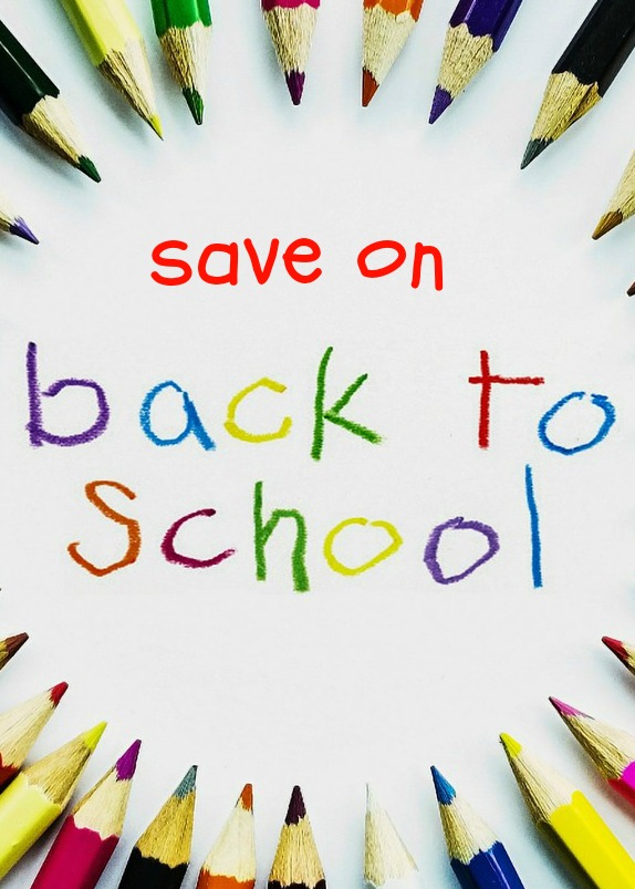 how to save on back to school