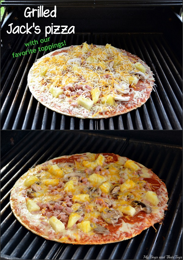 Grilled Jack's pizza