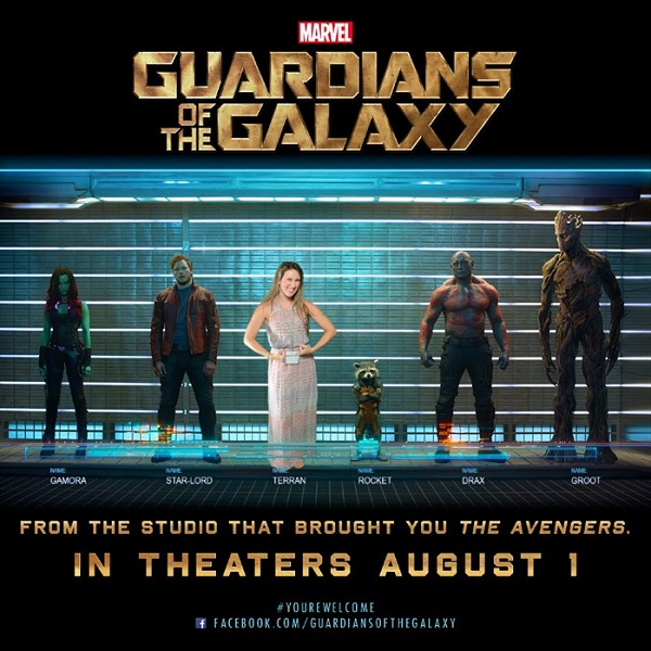 Guardians of the Galaxy with me