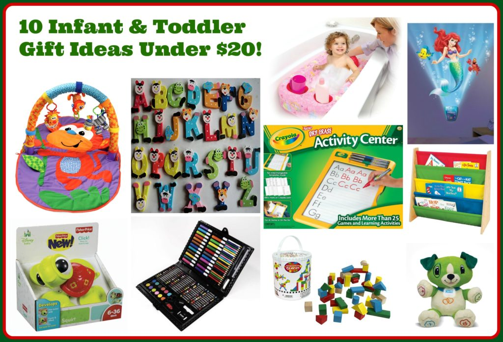 10 Infant Toddler Gift Ideas