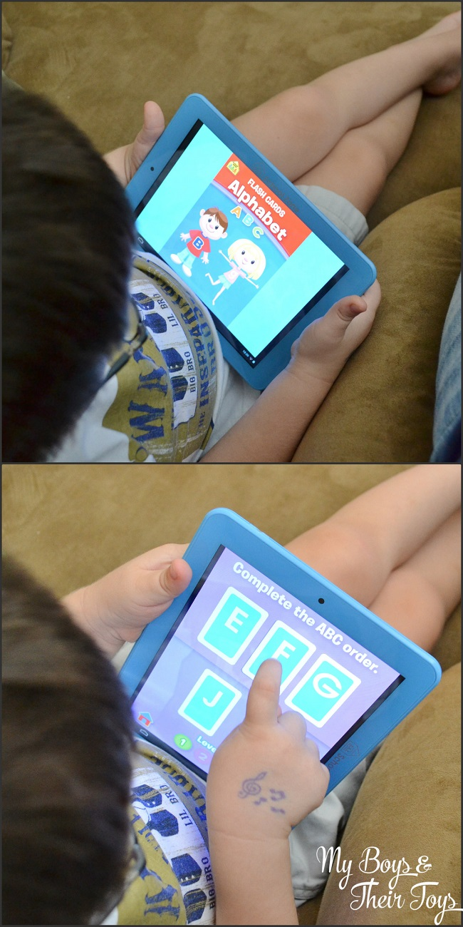 tablet learning game
