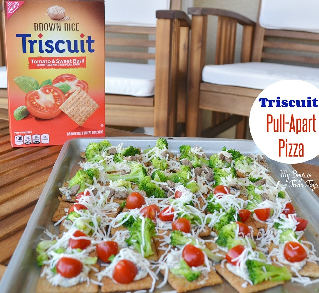 triscuit pull apart pizza