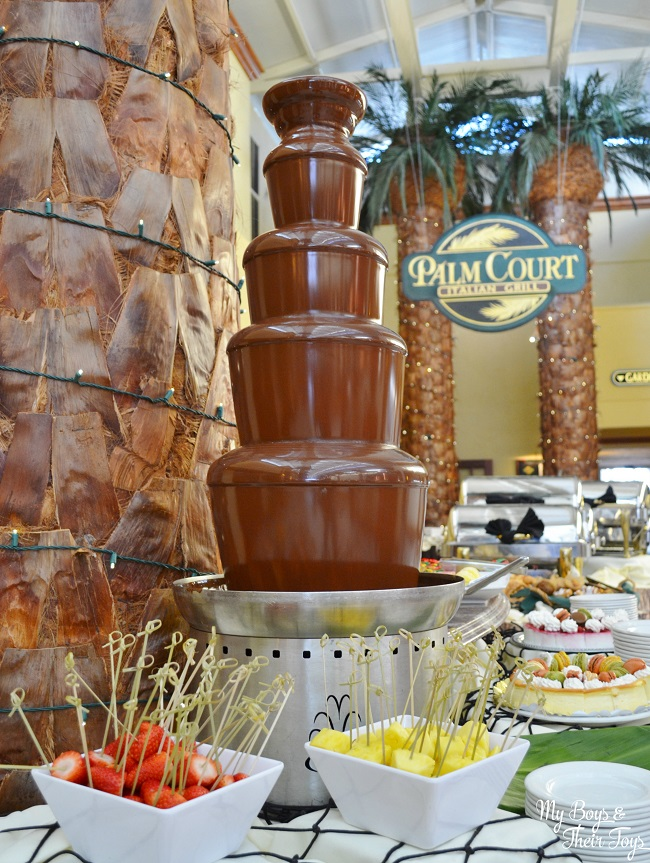 TradeWinds chocolate fountain
