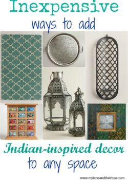indian inspired decor