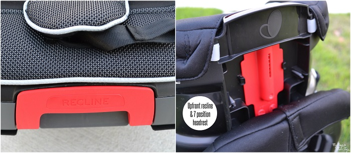 car seat recline positions