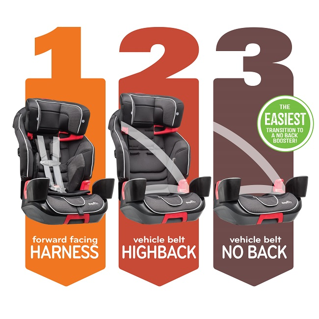 evenflo 3 in 1 car seat