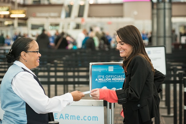 skip the lines at airports