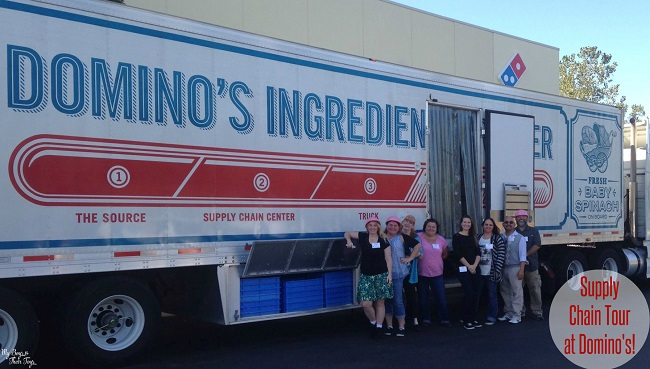 dominos group truck pic