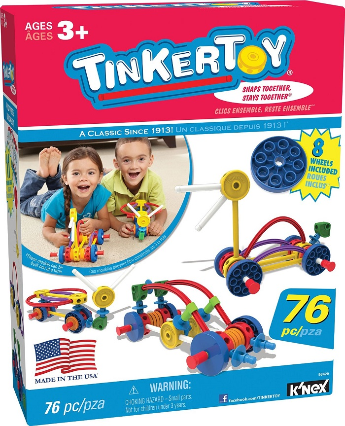 tinkertoys wild wheels