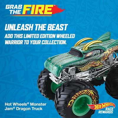 hot wheels grab the fire