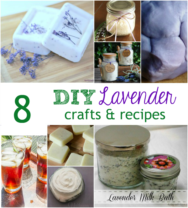 8 diy Lavender Crafts And Recipes