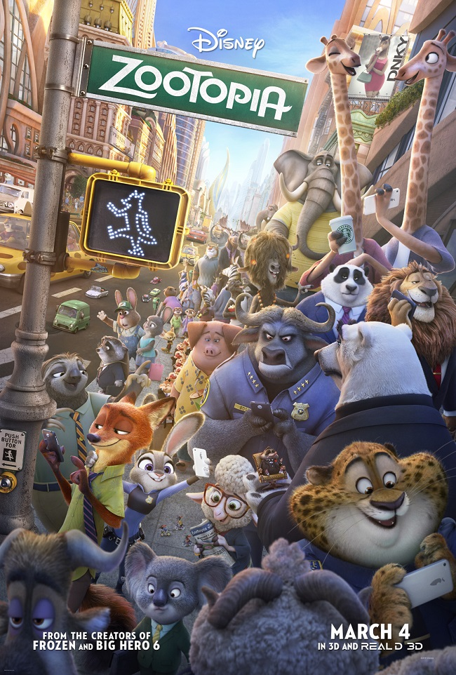 disney's zootopia film