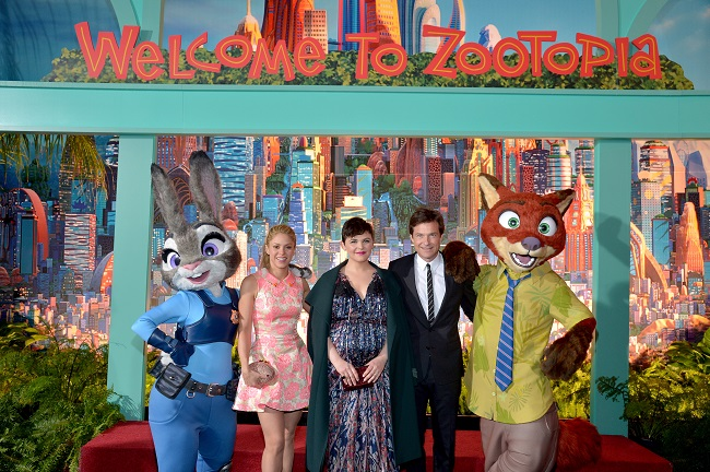 Disney's Zootopia red carpet