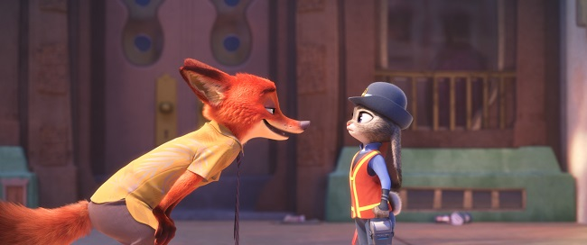 fox and bunny zootopia