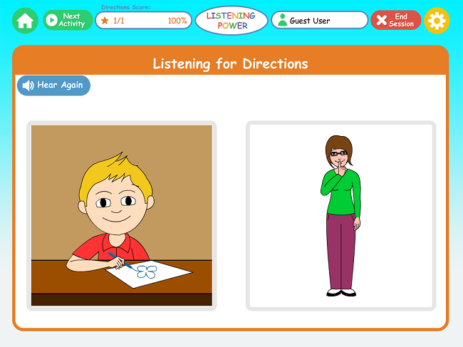 Listening Power preschool
